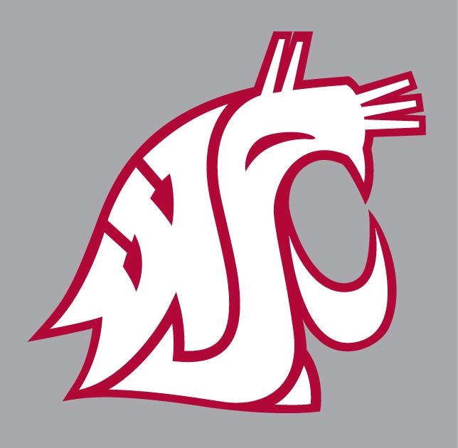 Washington state cougars clipart jpg free WA State Cougars Logo   Washington State Cougars Alternate ... jpg free