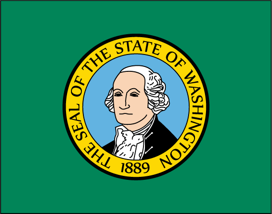 Washington state flag clipart graphic download Free State Flag Clipart graphic download