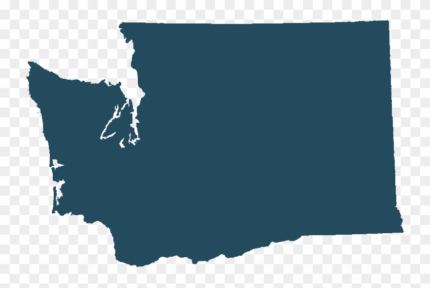 Washington state map clipart image transparent library Alternate Text - Hydrology Map Of Washington State Clipart ... image transparent library