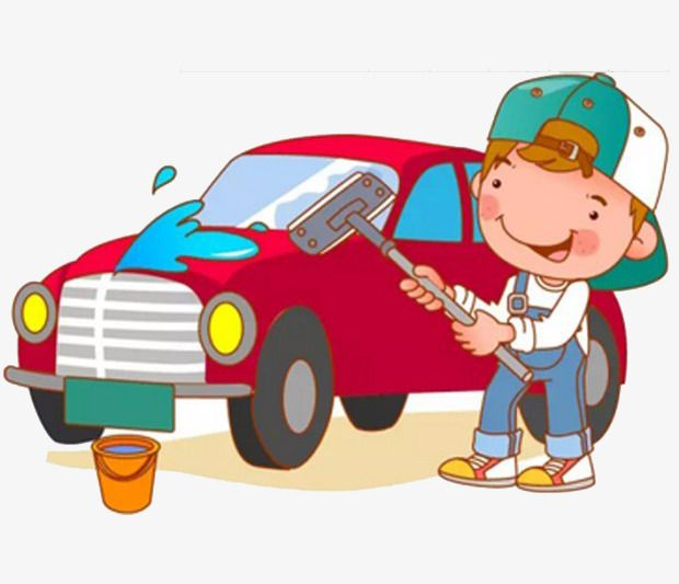 Wasing cars clipart svg library stock a boy in a car wash | Graphics | Car wash, Car, Car cleaning svg library stock