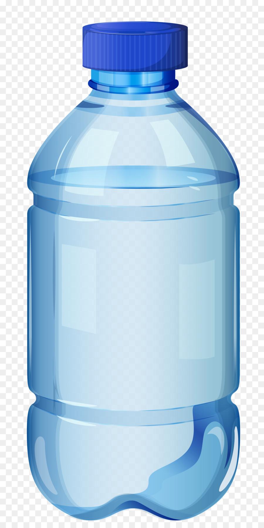 Wasserflasche clipart vector library download Mineralwasser-Wasser-Flaschen-clipart - Flasche png ... vector library download