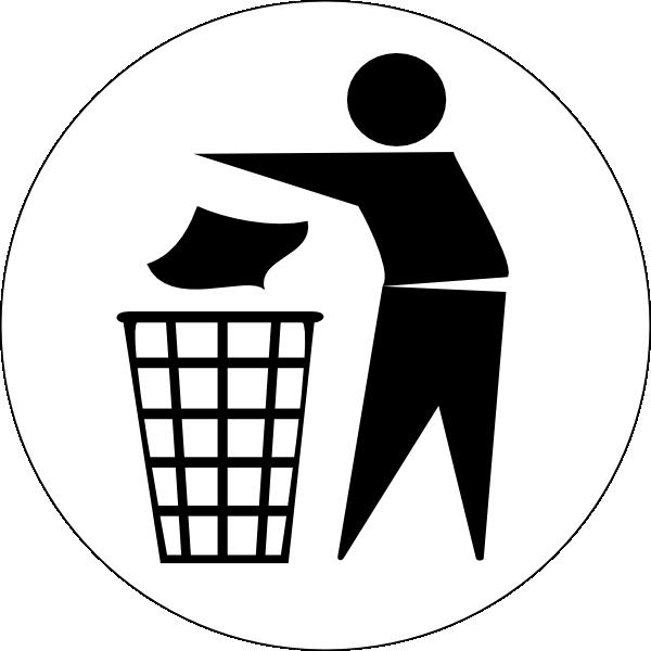 Waste bin clipart graphic transparent download Waste Bin Clip Art at Clker.com - vector clip art online ... graphic transparent download