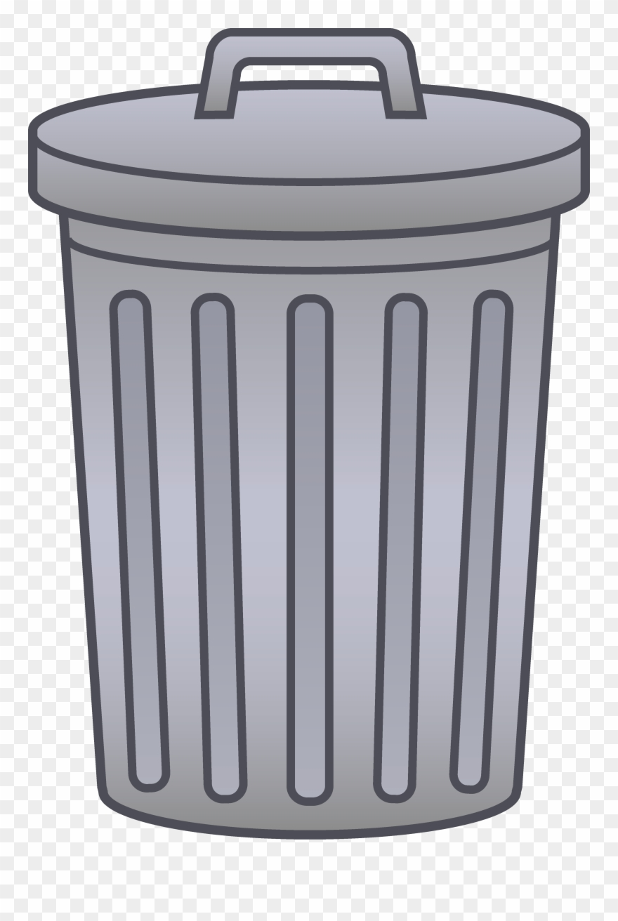 Trash around trash can clipart transparent library Collection Of Trash Transparent High Quality - Trash Can ... transparent library