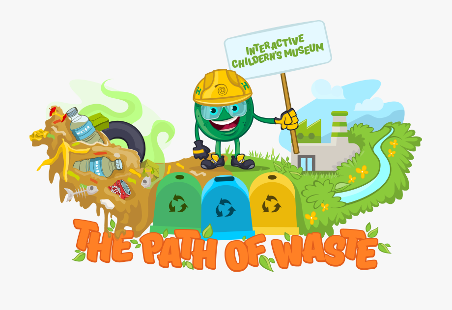 Waste management clipart free vector black and white library Welcome To The Website Of The First Children\'s Interactive ... vector black and white library