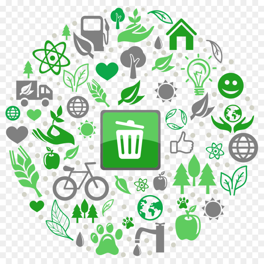Waste management clipart free graphic library download Green Leaf Logo png download - 1200*1200 - Free Transparent ... graphic library download