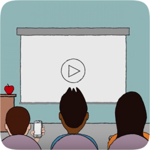 Watch a video clipart image stock Using Video Effectively in the Classroom | Common Sense ... image stock
