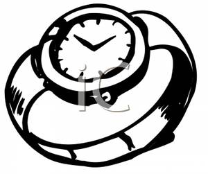 Watch black and white clipart transparent library Watch Clipart Black And White | Clipart Panda - Free Clipart ... transparent library