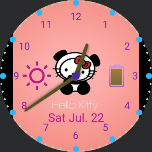 Watch face clipart pink clip art transparent download Pink Hello Kitty - WatchMaker Watch Faces clip art transparent download