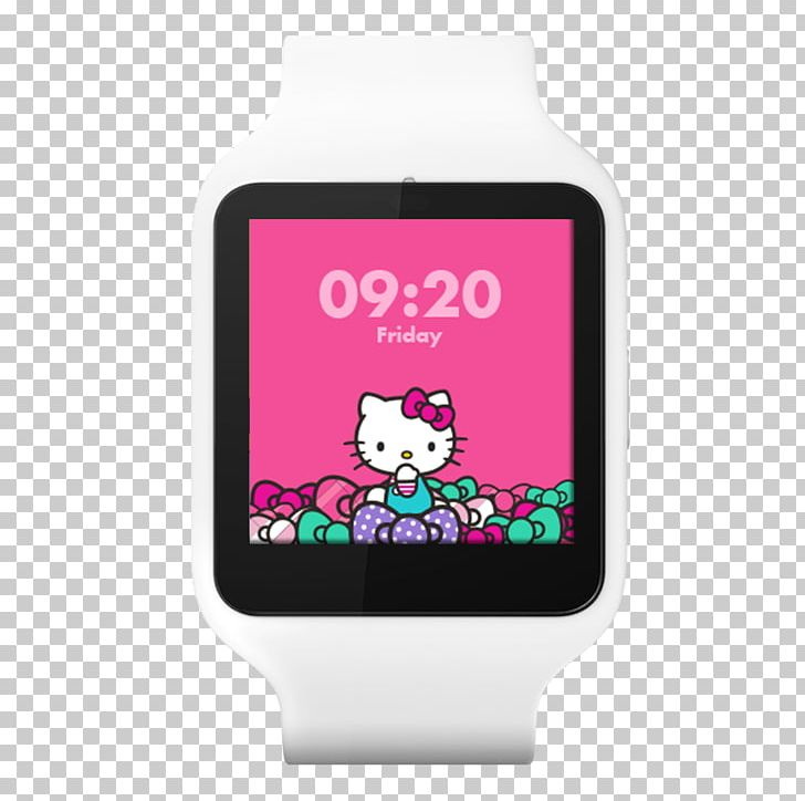 Watch face clipart pink png freeuse Hello Kitty Fit Cat PNG, Clipart, Android, Apple Watch, Cat ... png freeuse