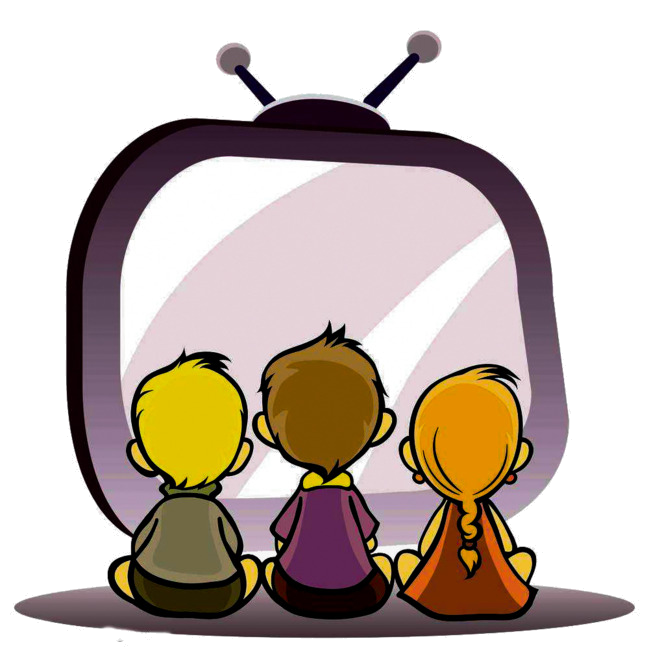 Watch for children clipart stock Tv Clip Art The Children Watch Together Clipart For Teachers ... stock