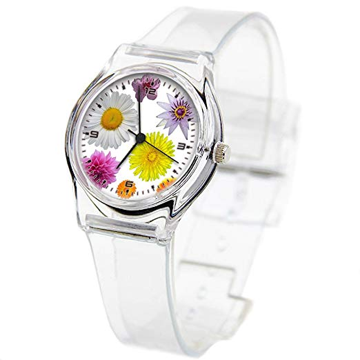 Watch for children clipart picture library Personality Transparent Wristwatch Transparent Strap Summer ... picture library