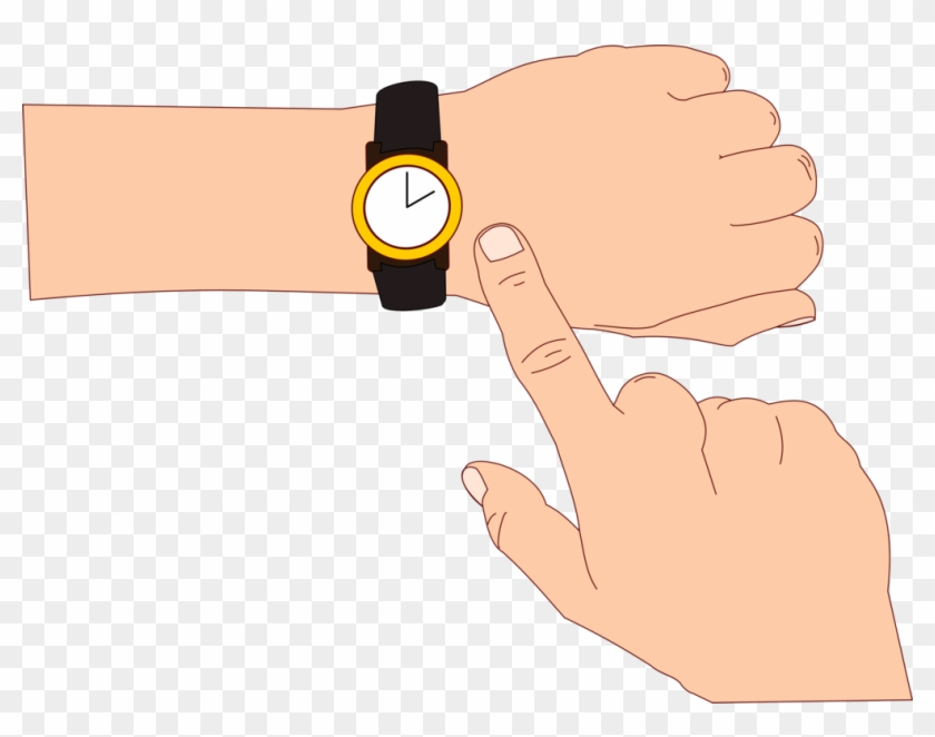 Watch hand clipart clip art black and white Watch Download Wrist Doushiyouka Educational Entrance - Hand ... clip art black and white