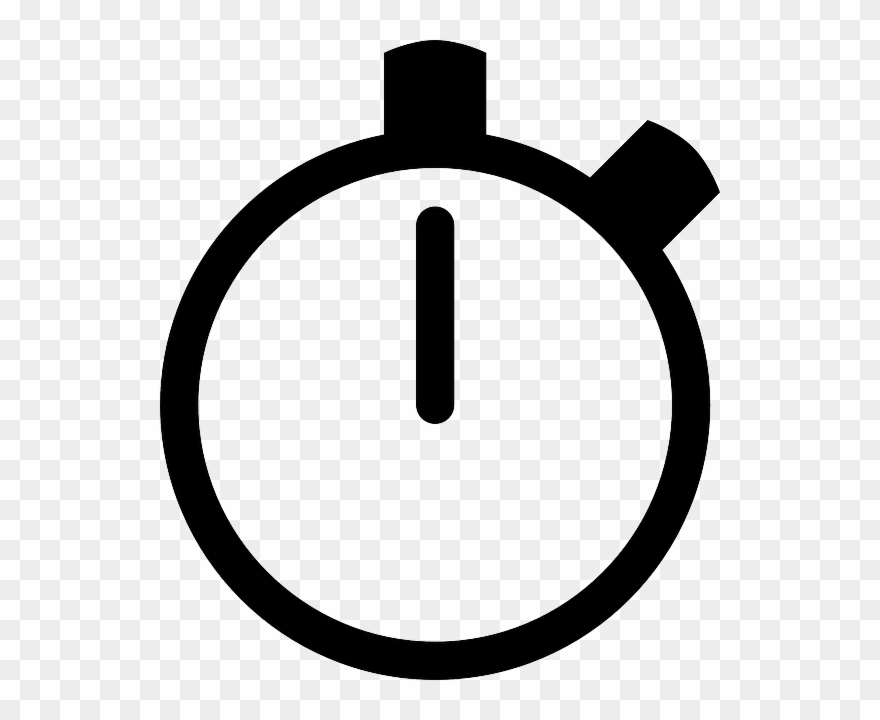Watch icon clipart picture freeuse download Stop Watch Icon Clip Art At Clker - Stopwatch Clipart - Png ... picture freeuse download