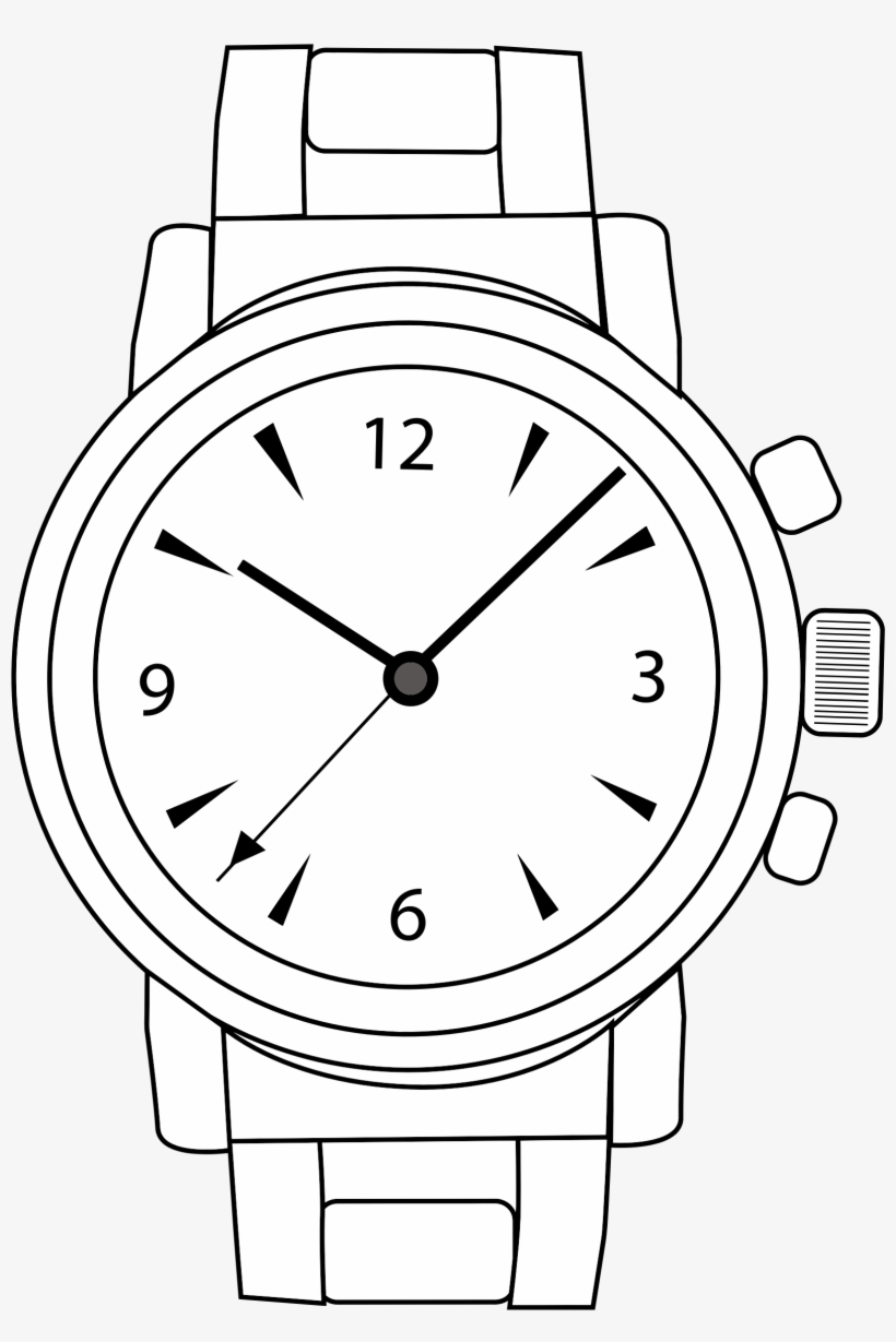 Watch on hand clipart picture transparent Svg Free Download Watching Clipart Hand Watch - Watch Clip ... picture transparent