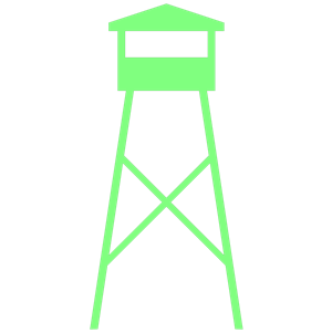 Watch tower clipart image transparent library WATCH-TOWER clipart, cliparts of WATCH-TOWER free download ... image transparent library