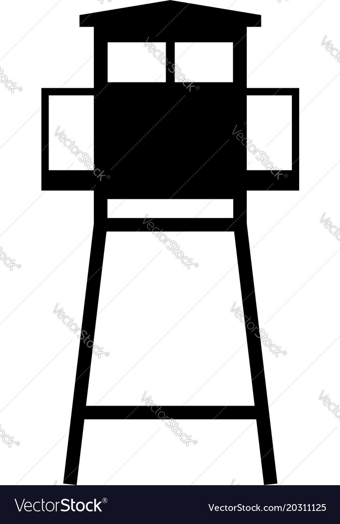 Watch tower vector clipart svg free library Watchtower svg free library