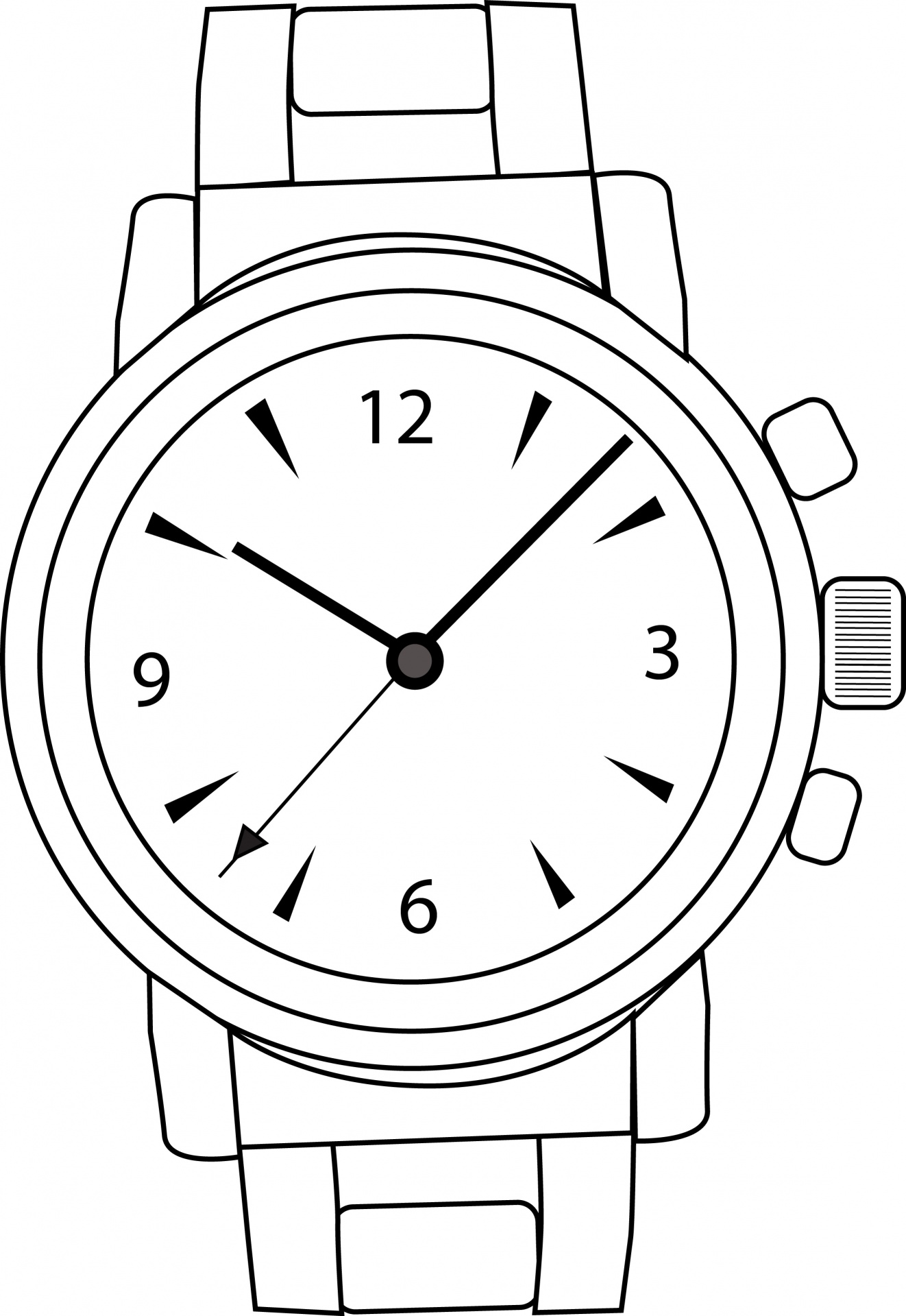 Wrist watch vector clipart png freeuse library Watch,wrist watch,time,clipart,watch-vector - free photo ... png freeuse library