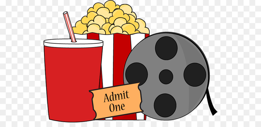 Watching a film clipart clip black and white Download Free png Film Ticket Cinema Clip art Watch Movie ... clip black and white