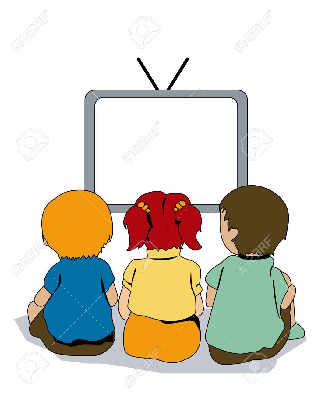 Watching clipart kid clip free library Kid watching tv clipart 3 » Clipart Portal clip free library