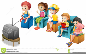 Watching clipart kid banner black and white download Kid Watching Tv Clipart | Free Images at Clker.com - vector ... banner black and white download