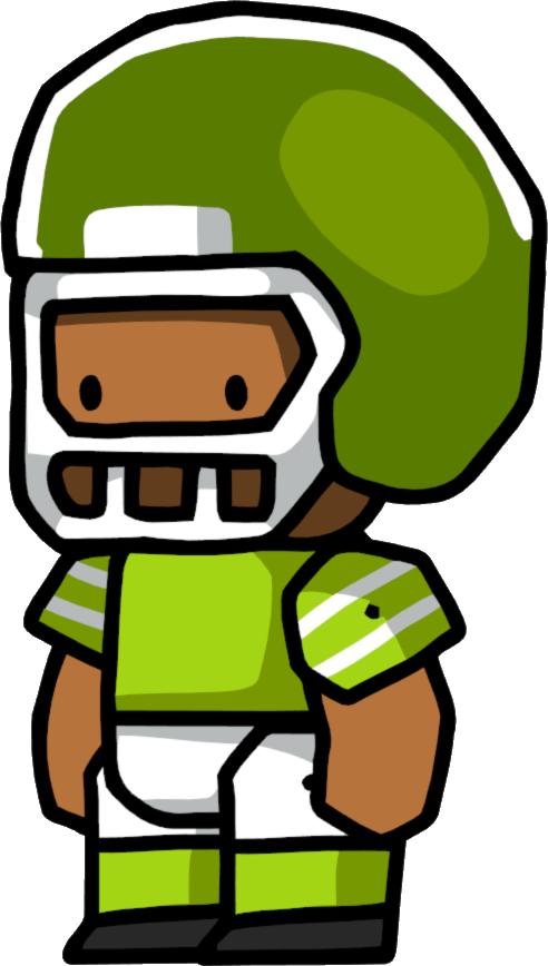 Watching football on tv clipart png freeuse stock Football Player | Scribblenauts Wiki | FANDOM powered by Wikia png freeuse stock
