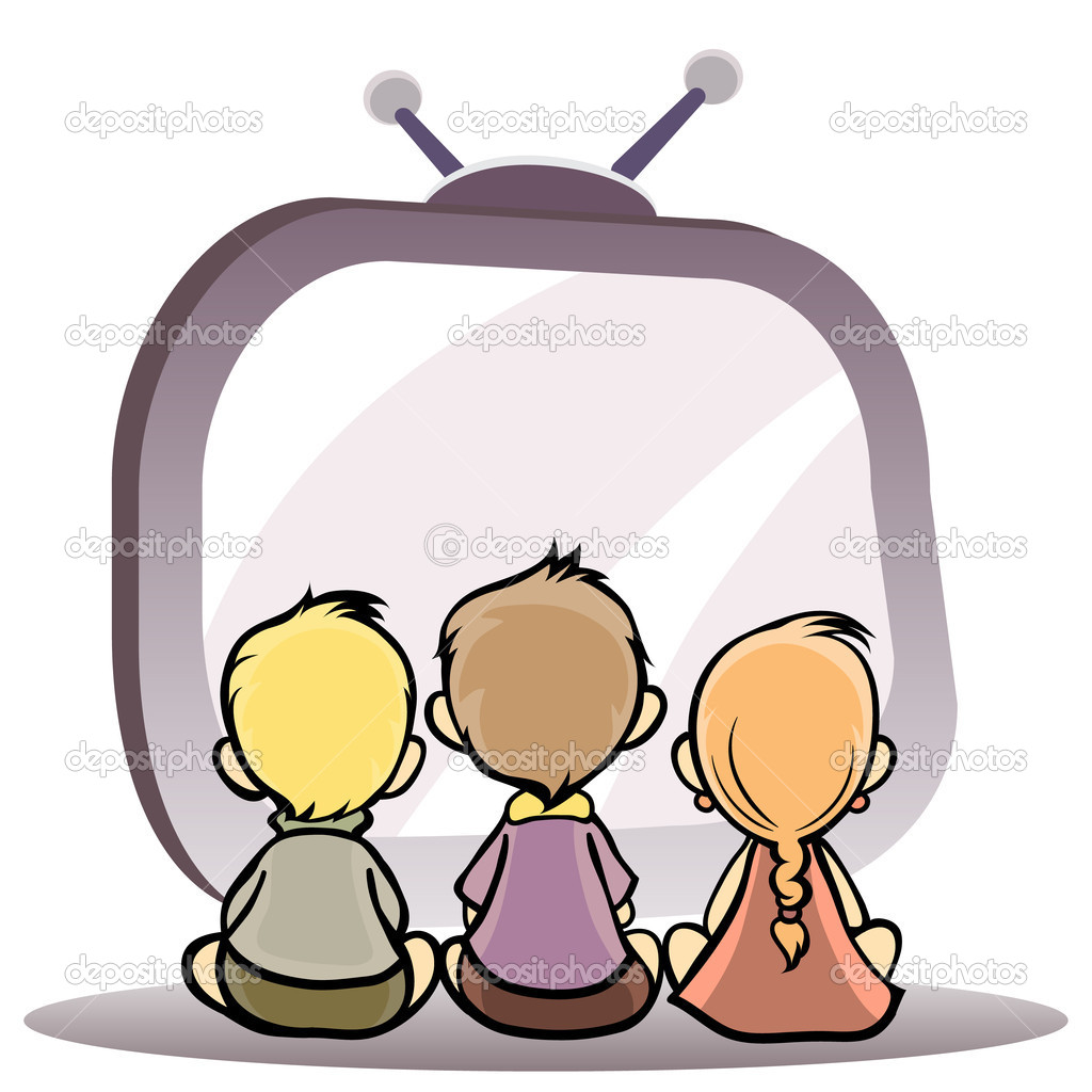 Watching television clipart melonheadz clipart free library Kids Watching Movie Clipart | Clipart Panda - Free Clipart ... clipart free library