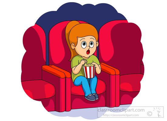 Watching sad movie clipart clip art freeuse Movie Clip Art - ClipartBarn clip art freeuse
