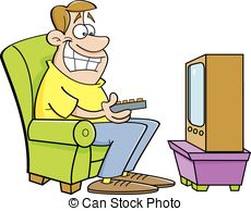 Watching television clipart image library stock Watching television Clipart Vector Graphics. 7,127 Watching ... image library stock