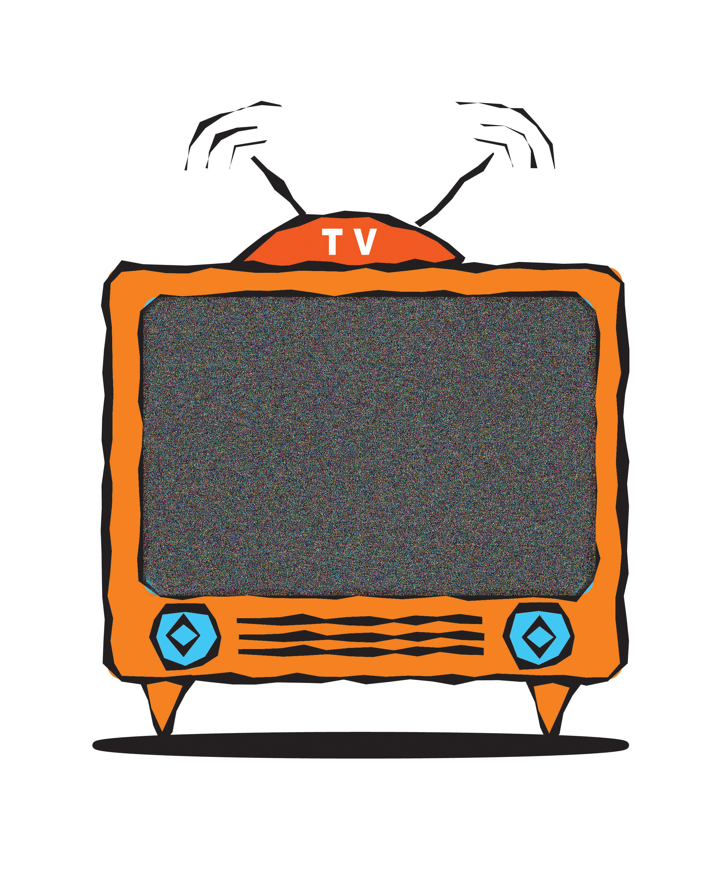 Watching television clipart melonheadz picture stock Friends Watching Tv Clipart - Clip Art Library picture stock