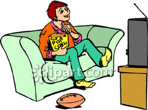 Watching tv and eating clipart svg free stock Woman Watching Tv Clipart | Free download best Woman ... svg free stock