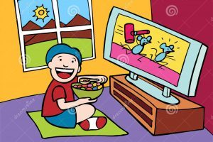 Watching tv and eating clipart clipart freeuse library Watching tv while eating clipart 1 » Clipart Portal clipart freeuse library