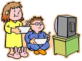 Watching tv and eating clipart clipart free Eating And Watching Tv Clipart clipart free