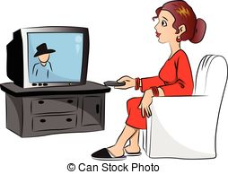 Watching tv clipart free vector clip art black and white download Watching television Clipart Vector Graphics. 7,127 Watching ... clip art black and white download