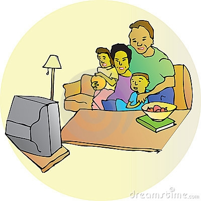 Watching tv with the family clipart image transparent stock Family Watching Tv Clipart Vector, Clipart, PSD - peoplepng.com image transparent stock