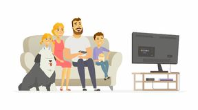 Watching tv with the family clipart banner Family Watching Tv Clipart (106+ images in Collection) Page 1 banner