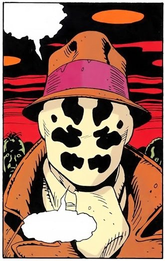Watchmen rorschach clipart library Watchmen Rorschach / Characters - TV Tropes library