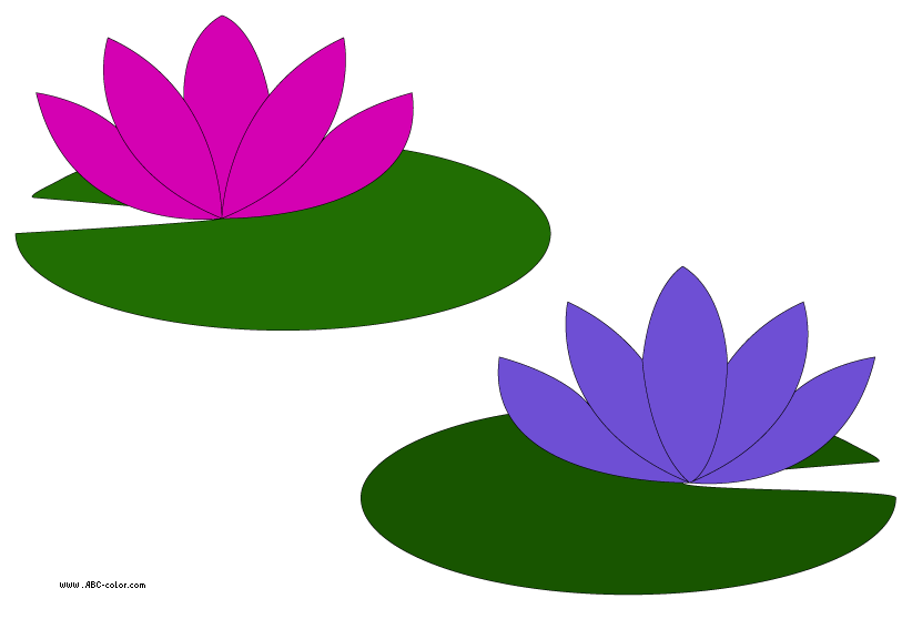 Water lily flower clipart jpg library Raster clipart water lilies jpg library