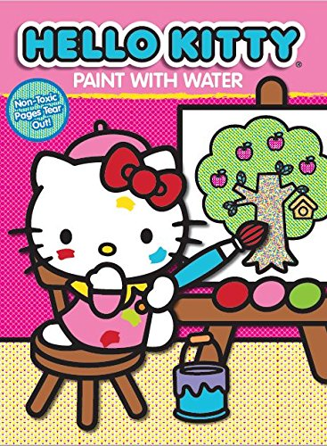 Water activity clipart clip art royalty free stock Hello Kitty Paint with Water Activity Book-Apple Tree clip art royalty free stock