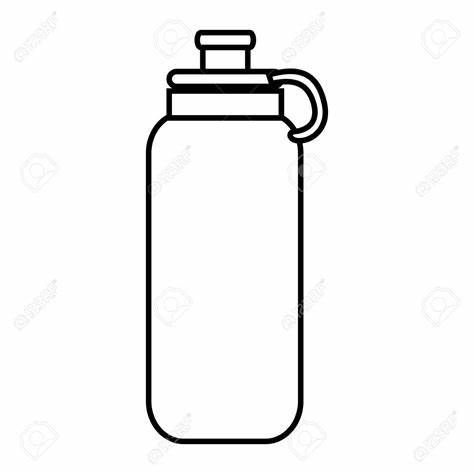 Waterbottle clipart black and white clipart freeuse download Water Bottle Clipart Black And White (82+ images in ... clipart freeuse download