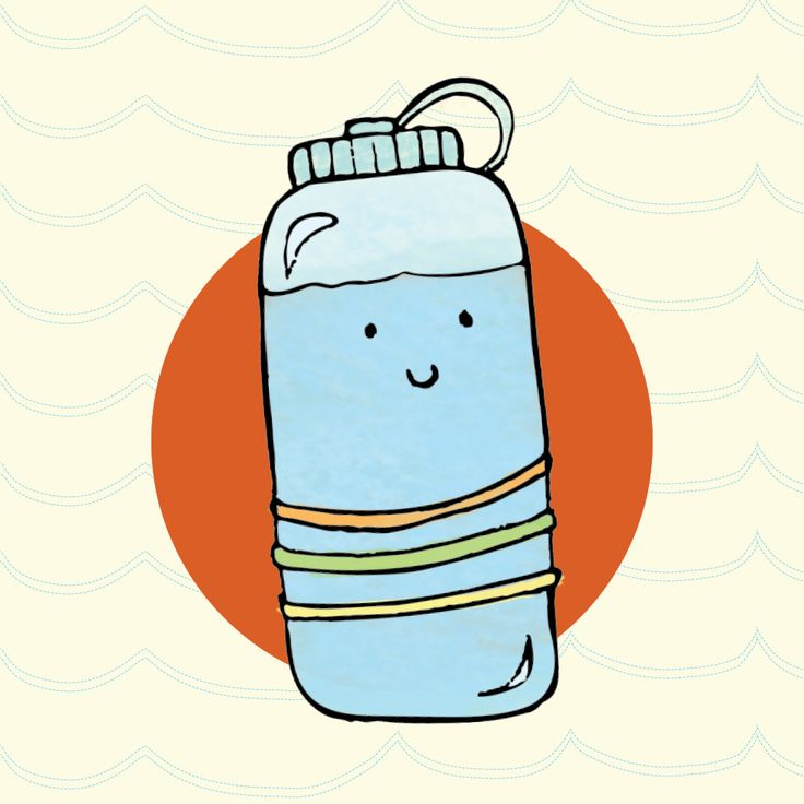 Water bottle cute clipart image free stock Collection of Water bottle clipart | Free download best ... image free stock