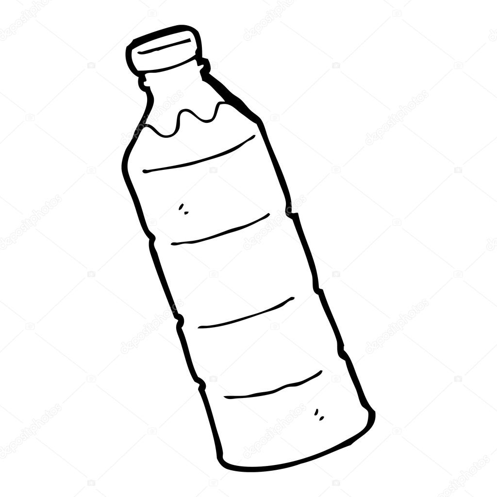 Water bottle paper clipart black and white clip library library Water Bottle Clipart Black And White | Free download best ... clip library library