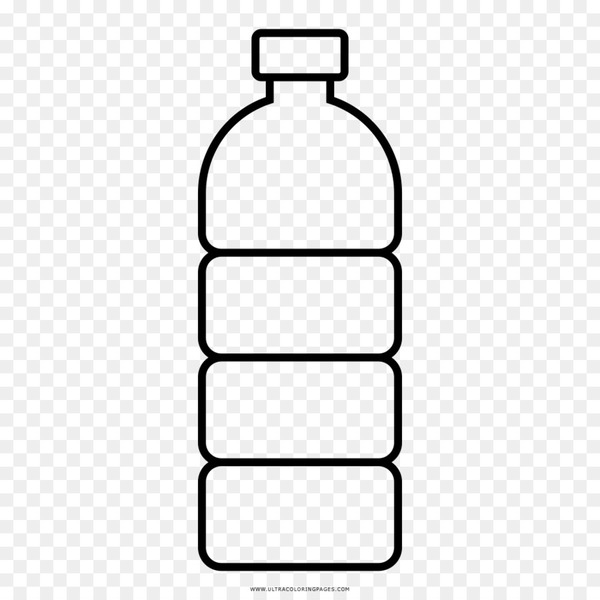 Water bottle paper clipart black and white clip art freeuse library Water Bottles Plastic bottle Drawing - bottle - Nohat clip art freeuse library