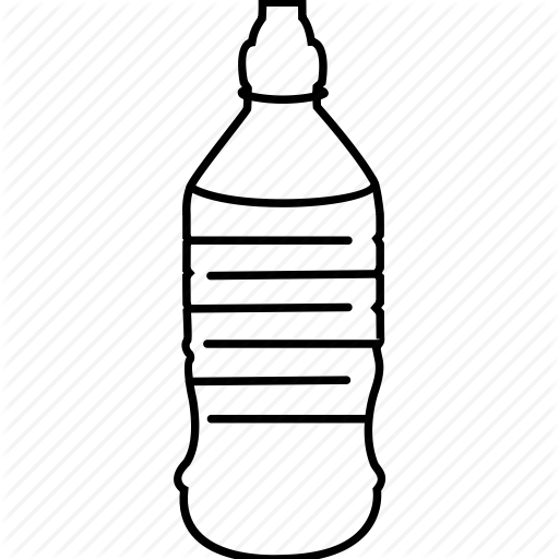 Water bottle paper clipart black and white banner transparent Water Bottle Drawing clipart - Drawing, Bottle, Water ... banner transparent
