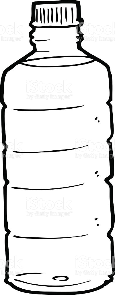 Water bottle paper clipart black and white banner free download Water Bottle Clipart Black And White | Free download best ... banner free download