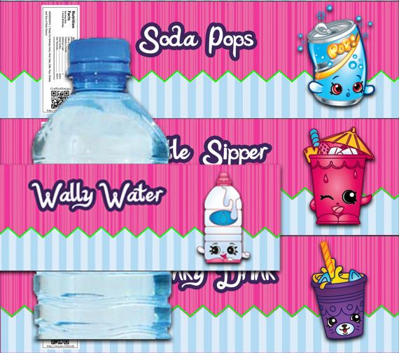Water bottle shopkins clipart svg freeuse download 17+ images about party: shopkins on Pinterest   Party printables ... svg freeuse download