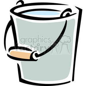 Water bucket clipart black and white vector transparent water bucket clipart. Royalty-free clipart # 384910 vector transparent