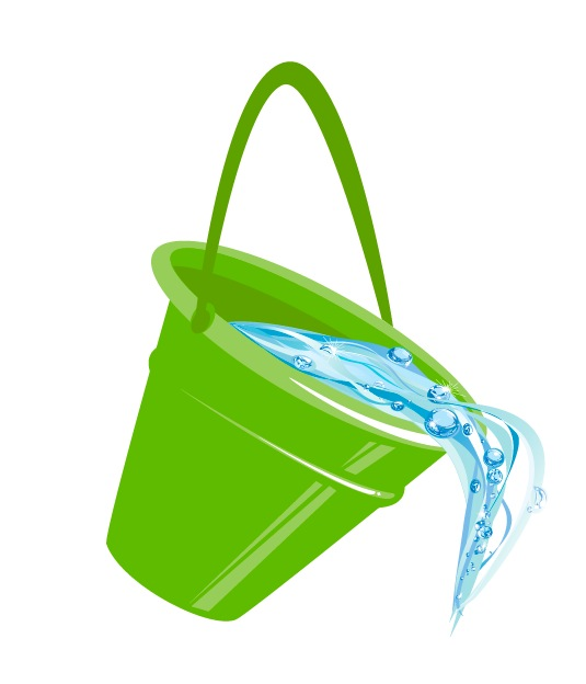 Water bucket pouring clipart clipart black and white download Free Water Bucket Cliparts, Download Free Clip Art, Free ... clipart black and white download