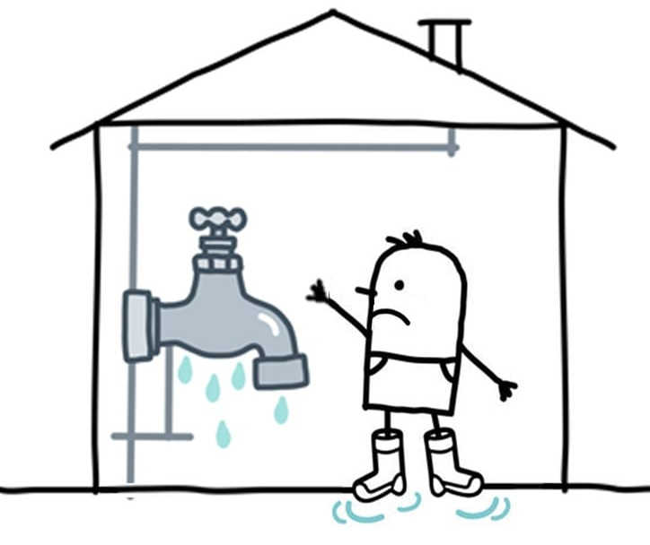 Water burst ground clipart freeuse Water Damage & Flood Insurance in Ontario   Mitchell & Whale ... freeuse