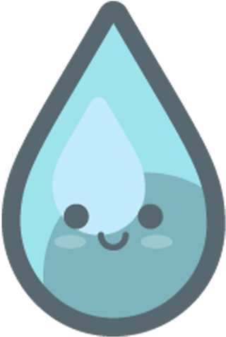 Water clipart cute image transparent stock Water Drop Png Cute - Cute Water Drop Clipart , Transparent ... image transparent stock