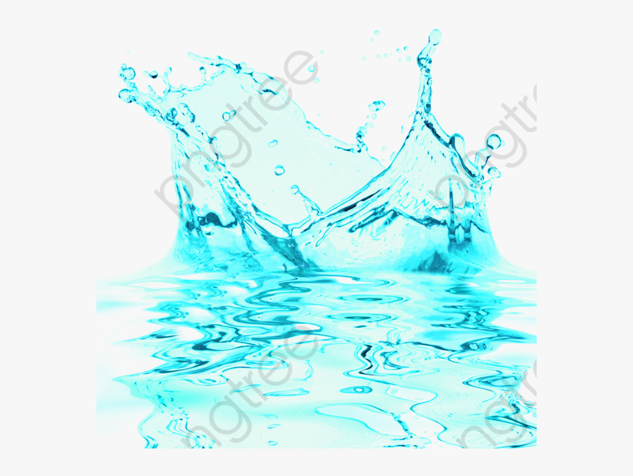 Water clipart effect png free stock Blue Water Splash Clipart - Water Splash Effect Png #327983 ... png free stock